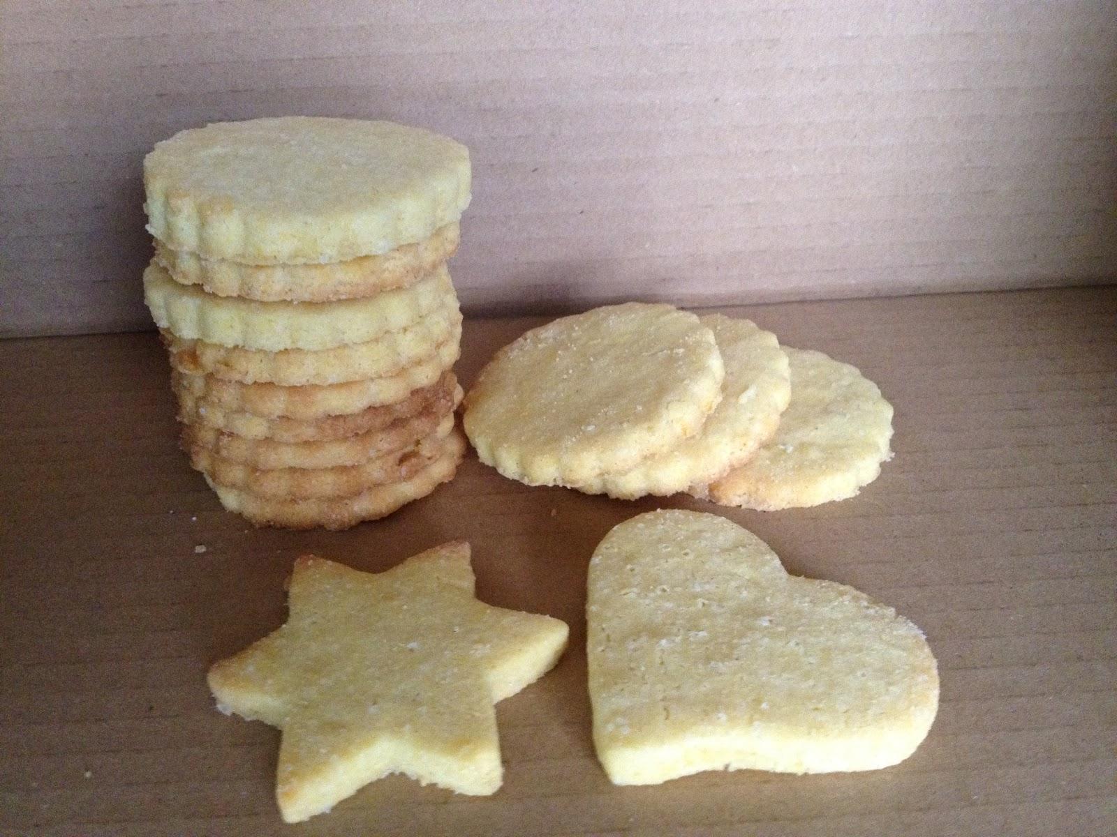 Biscotti con limone e polenta