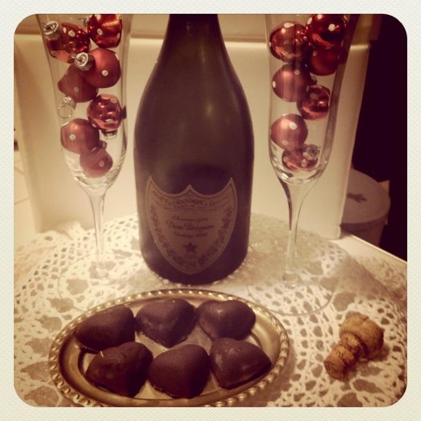 Bon bon aux Champagne