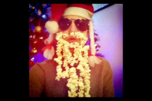 popcorn barba babbo natale