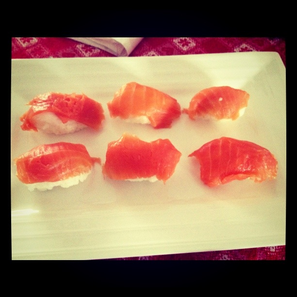 Sushi del riciclo low cost