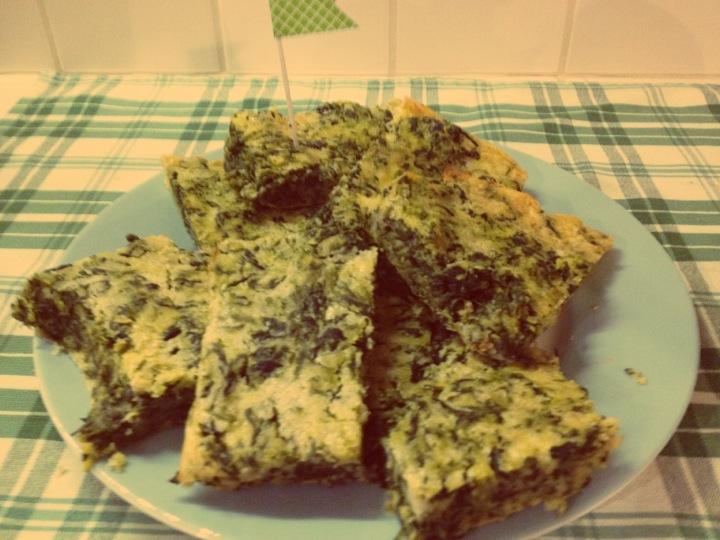 Cecina agli spinaci