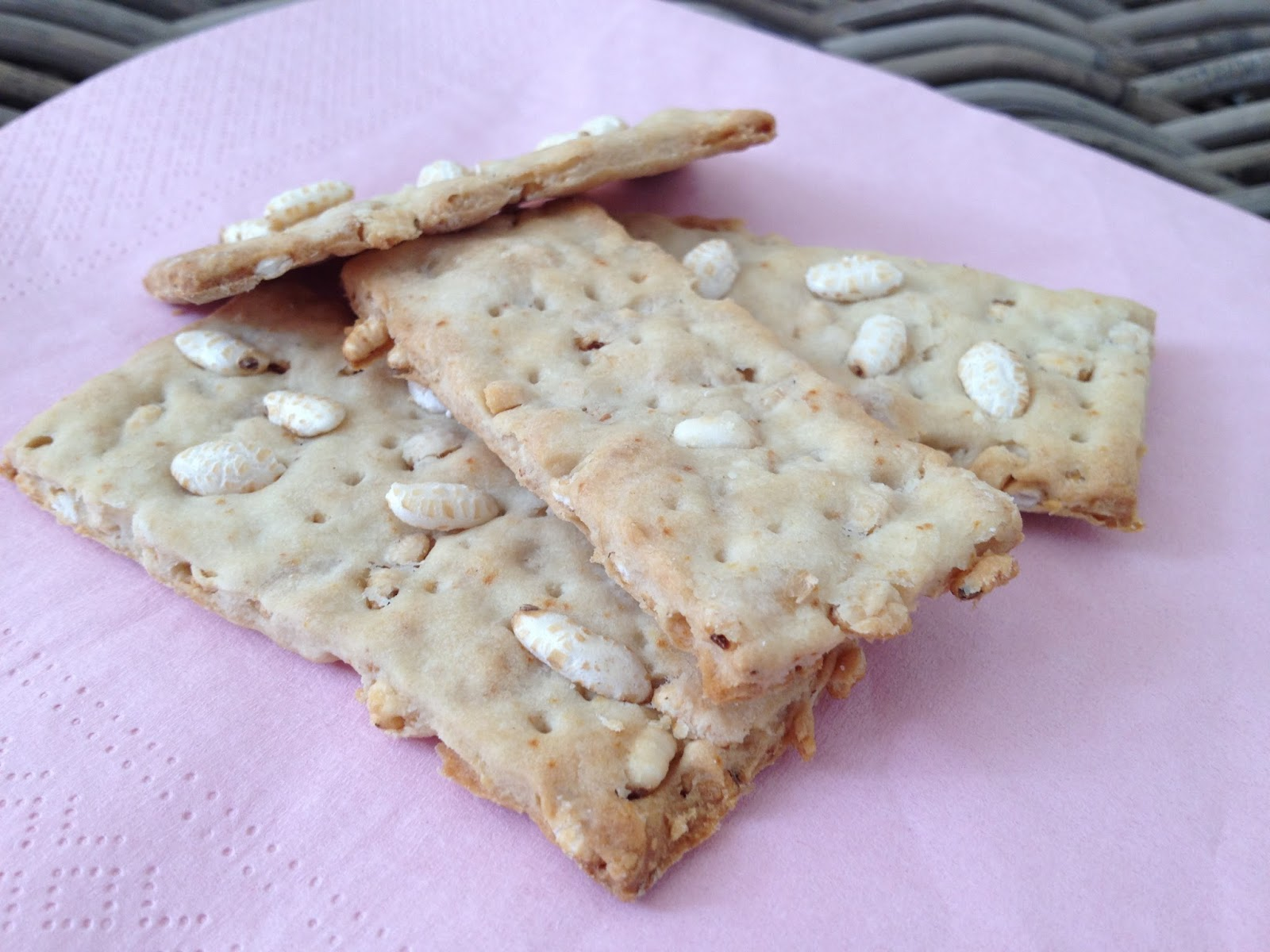 Cracker riso su riso versione veloce