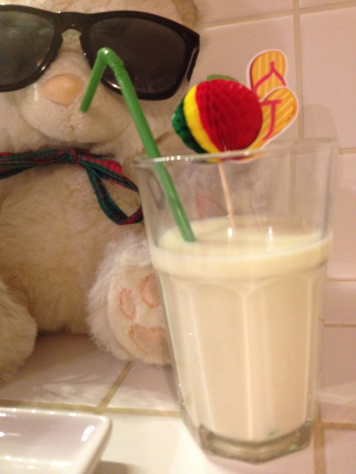 Smoothie mela e banana