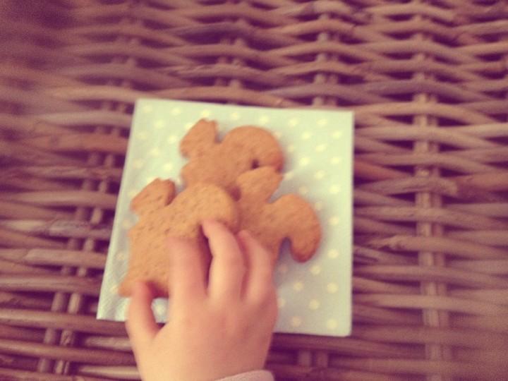 I biscotti di farro, Oscar, lo scoiattolo, la lingua lunga, e la coda …