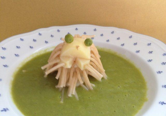 Creature mostruose rendono le verdure più appetitose