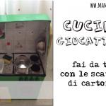 Giochi fai da te: come costruire una cucina per bambini con le scatole di cartone