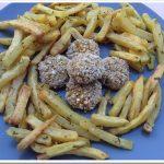 Polpette di seitan alle verdure e primi giorni senza pannolino