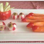Ricette di Halloween per bambini: verdure mostruose!