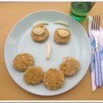 Polpette senza uova primaverili (con asparagi, miglio e pecorino)