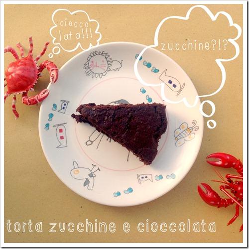 torta cioccolata e zucchine