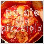 Le patate alla pizzaiola e l'inserimento all'asilo