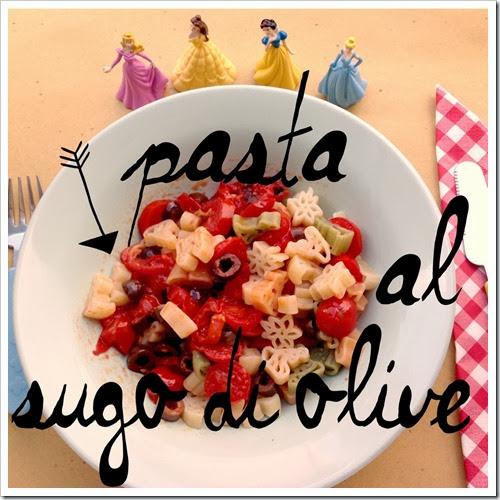 pasta per bambini olive