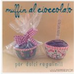 Muffin al cacao senza burro e uova… idea regalo di Natale!
