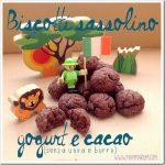 Biscotti yogurt e cacao senza burro e uova