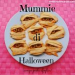 Pizzette mummie di Halloween