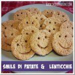 Ricette per bambini: smile di patate e lenticchie!