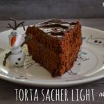 Torta sacher vegan e light