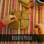 Biscotti puzzle per la colazione dei bambini