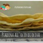 Piadina sottile all'olio di oliva