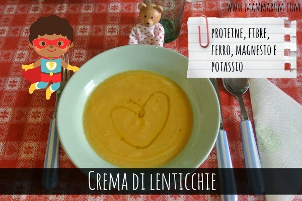 Crema di lenticchie (e miglio)