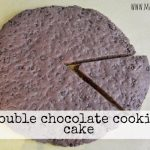 Torta cookies al doppio cioccolato (vegan!)
