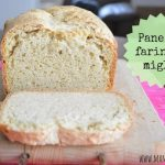 Pane con farina di miglio nella macchina del pane