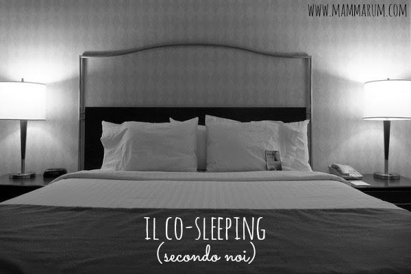 Il co-sleeping (secondo me)