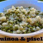 Quinoa e piselli: una coppia perfetta!