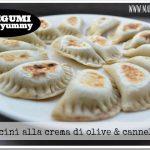 Cassoncini vegan alla crema di olive & cannellini
