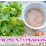 Salsa rosa (salsa coktail) senza uova