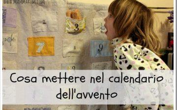 Cosa mettere nel calendario dell'avvento