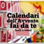 Calendario dell'avvento fai da te