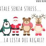 Checklist dei regali di Natale… per non dimenticarne neanche uno