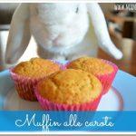 Muffin alle carote vegan