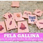 Giochi di carte per bambini: pela gallina