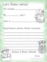 Lettera di Babbo Natale da stampare gratis
