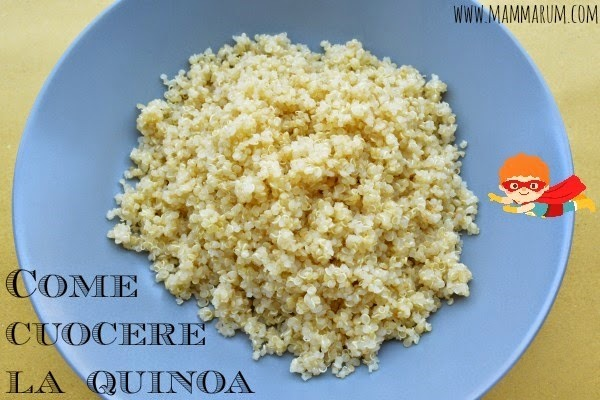 come cuocere la quinoa video