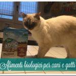 Alimenti biologici per cani e gatti