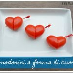 Pomodorini a forma di cuore