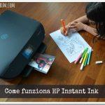 Come funziona HP Instant Ink