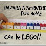 Come insegnare ai bambini a scrivere il proprio nome