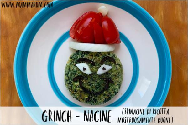 Ricette di Natale per bambini: le grinch-nacine