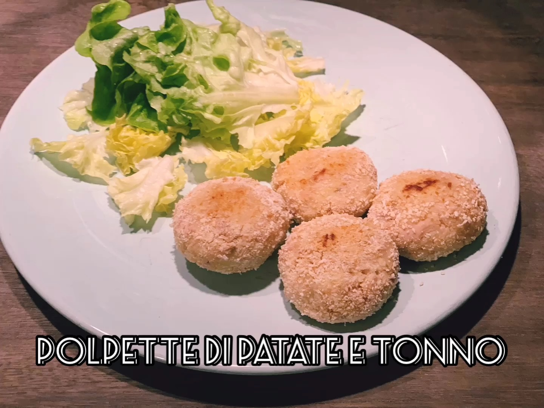 Polpette di patate e tonno senza uova
