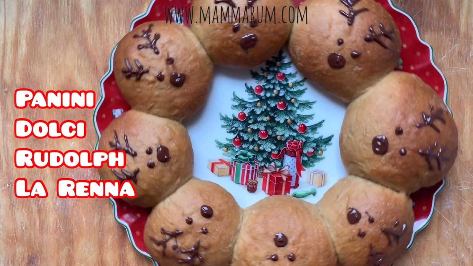 Giorni 21: Panini Dolci Rudolph la Renna