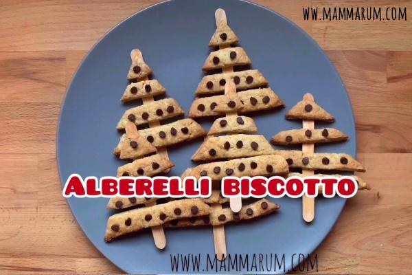 Avvento Giorno 1: Biscotti albero di Natale su stecco