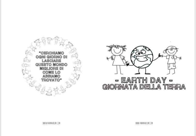 la giornata della terra spiegata ai bambini
