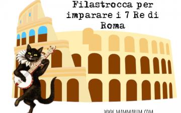 filastrocca imparare i 7 re di roma