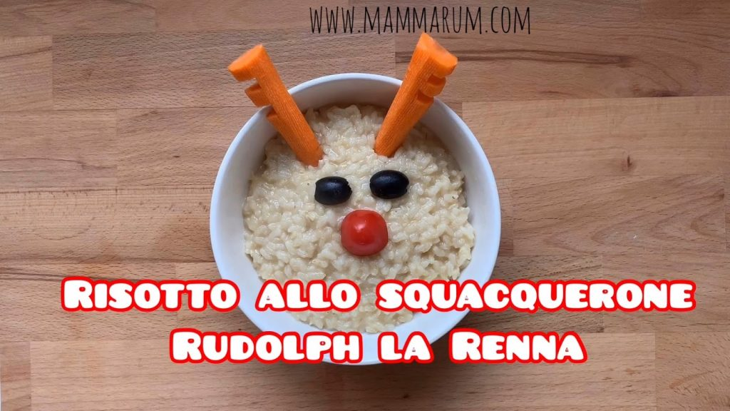 Risotto allo squacquerone Rudolph la Renna