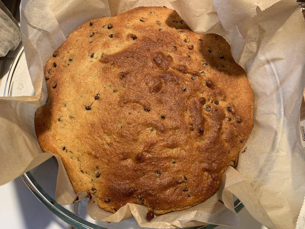 torta alle nocciole senza burro senza olio 1
