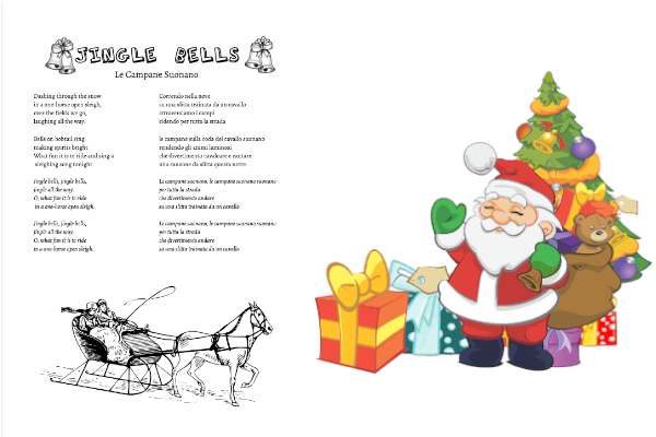 Jingle Bells, testo e traduzione da stampare